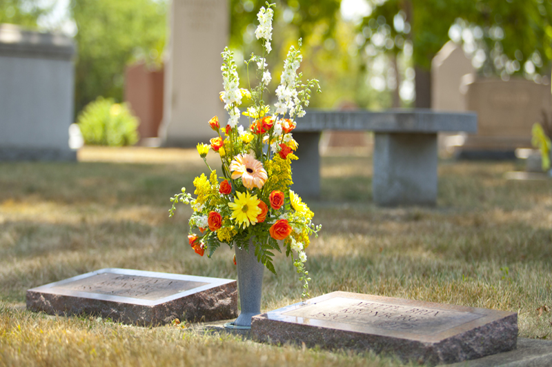 ... img-4 & ForeverSafe™ Cemetery Vases | Replacement Cemetery Vases | Cemetery ...